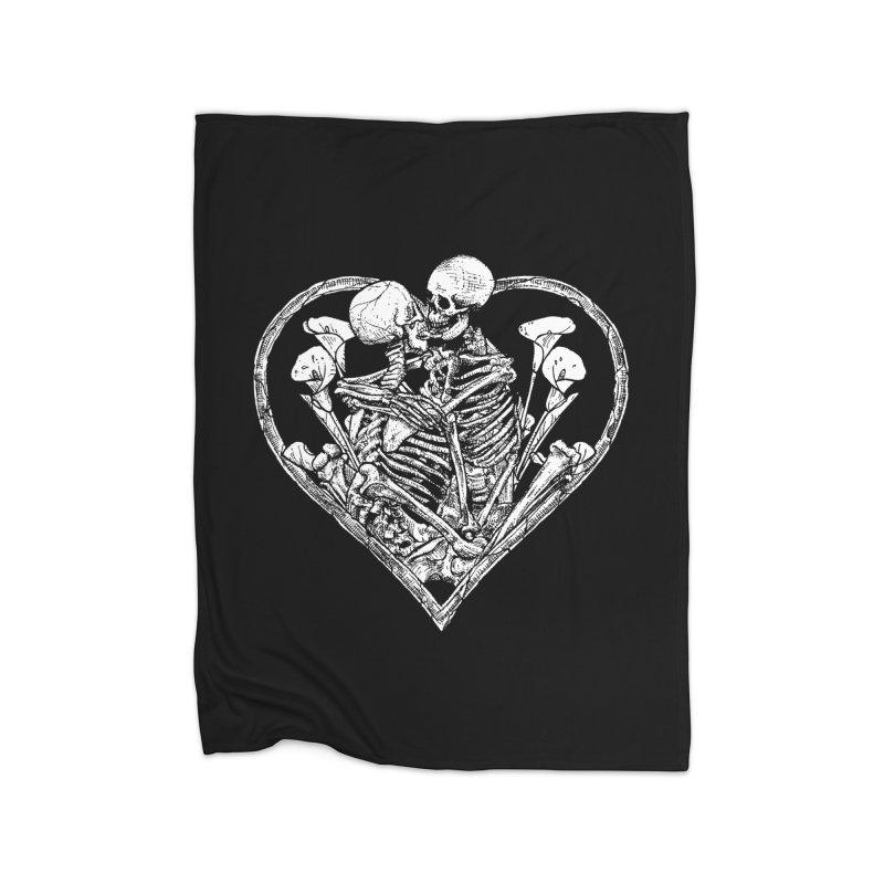 wanna bone? Home Fleece Blanket Blanket by Sp3ktr's Artist Shop