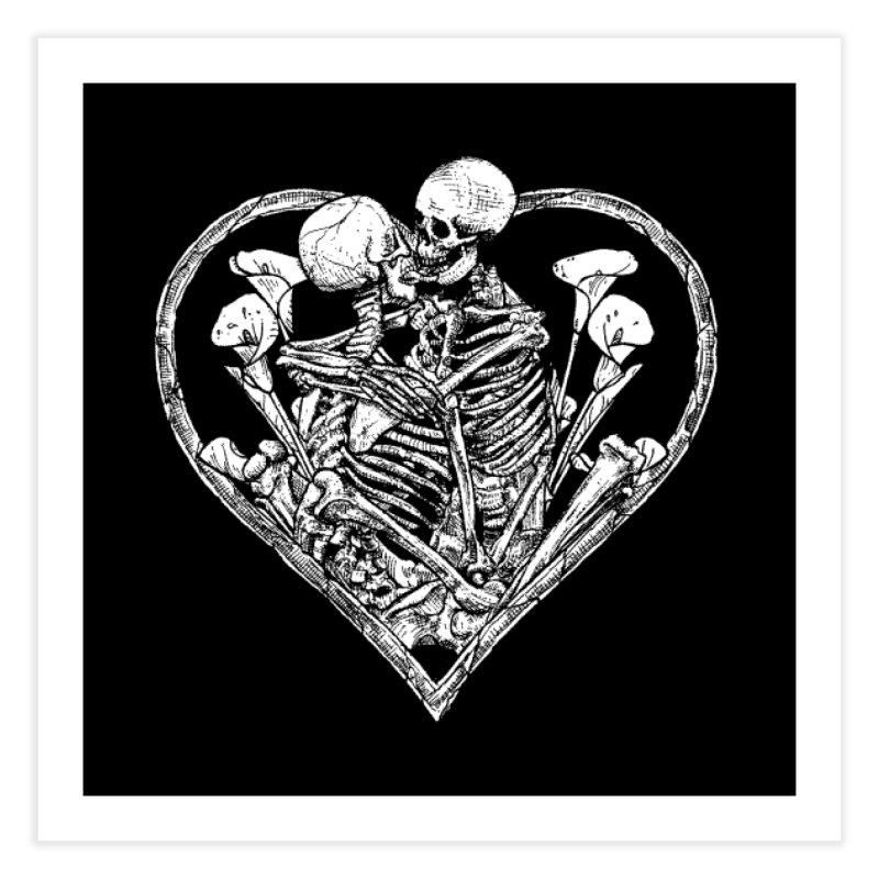 wanna bone? Home Fine Art Print by Sp3ktr's Artist Shop