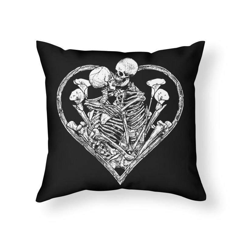 wanna bone? Home Throw Pillow by Sp3ktr's Artist Shop