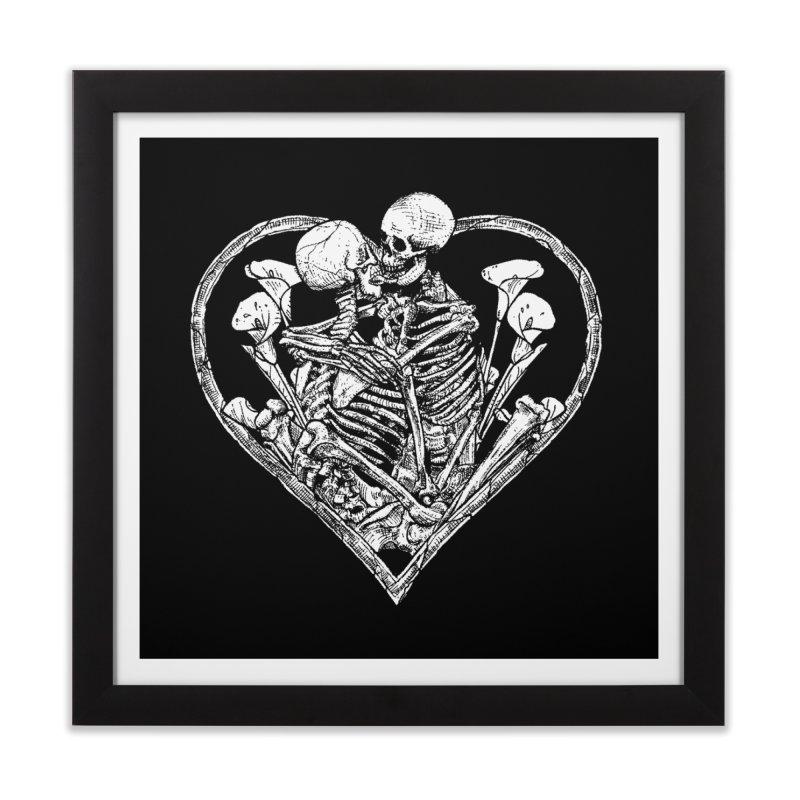 wanna bone? Home Framed Fine Art Print by sp3ktr's Artist Shop
