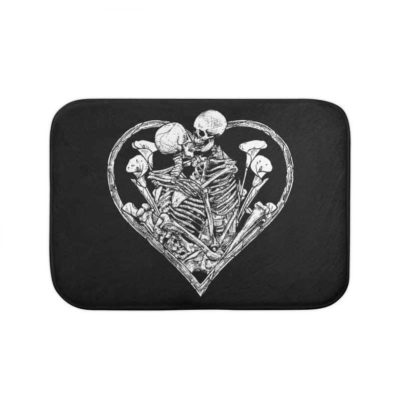 wanna bone? Home Bath Mat by Sp3ktr's Artist Shop