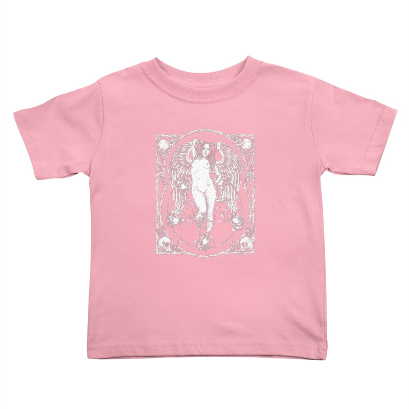 Dynamite and Roses Kids Toddler T-Shirt by sp3ktr's Artist Shop