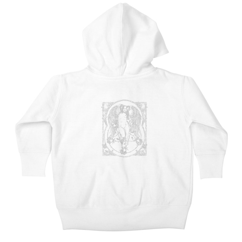 Dynamite and Roses Kids Baby Zip-Up Hoody by sp3ktr's Artist Shop