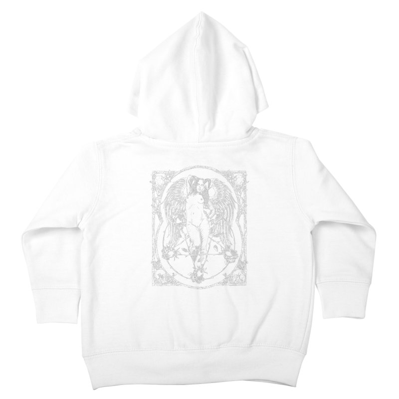 Dynamite and Roses Kids Toddler Zip-Up Hoody by sp3ktr's Artist Shop