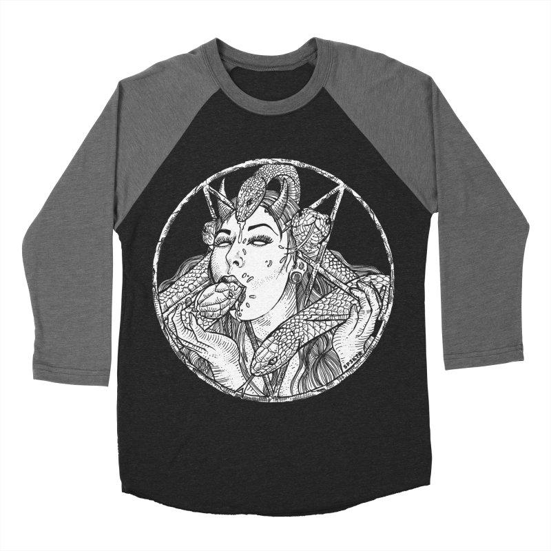 Snake Charmer Men's Baseball Triblend Longsleeve T-Shirt by sp3ktr's Artist Shop