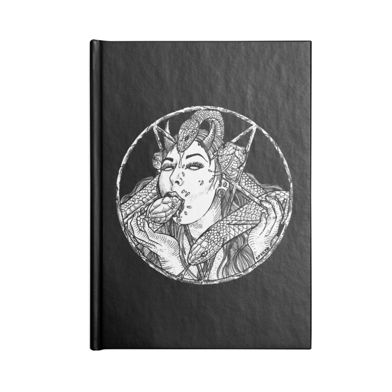 Snake Charmer Accessories Notebook by sp3ktr's Artist Shop