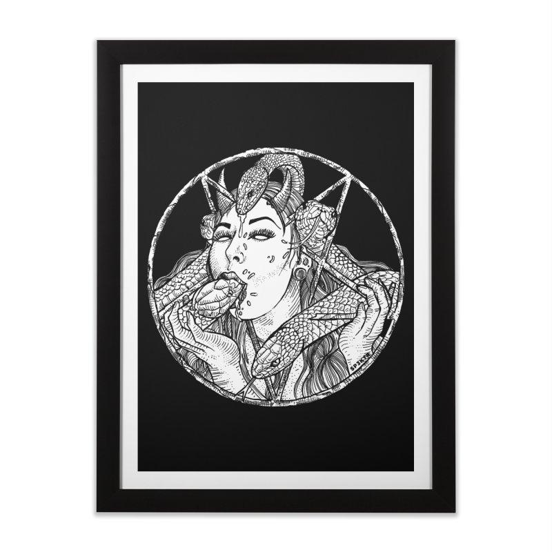 Snake Charmer Home Framed Fine Art Print by Sp3ktr's Artist Shop