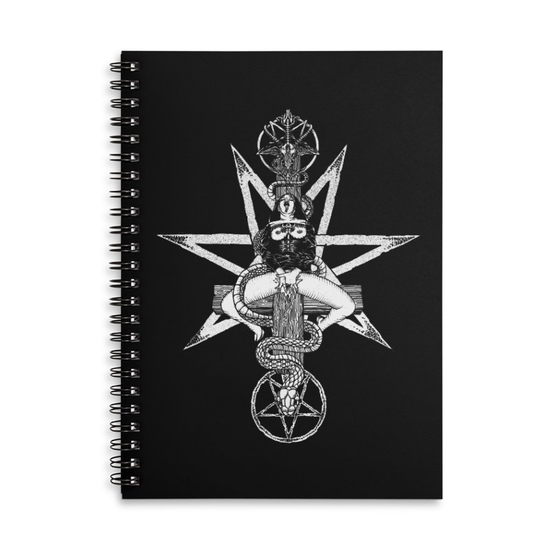 Nun of your business Accessories Lined Spiral Notebook by Sp3ktr's Artist Shop
