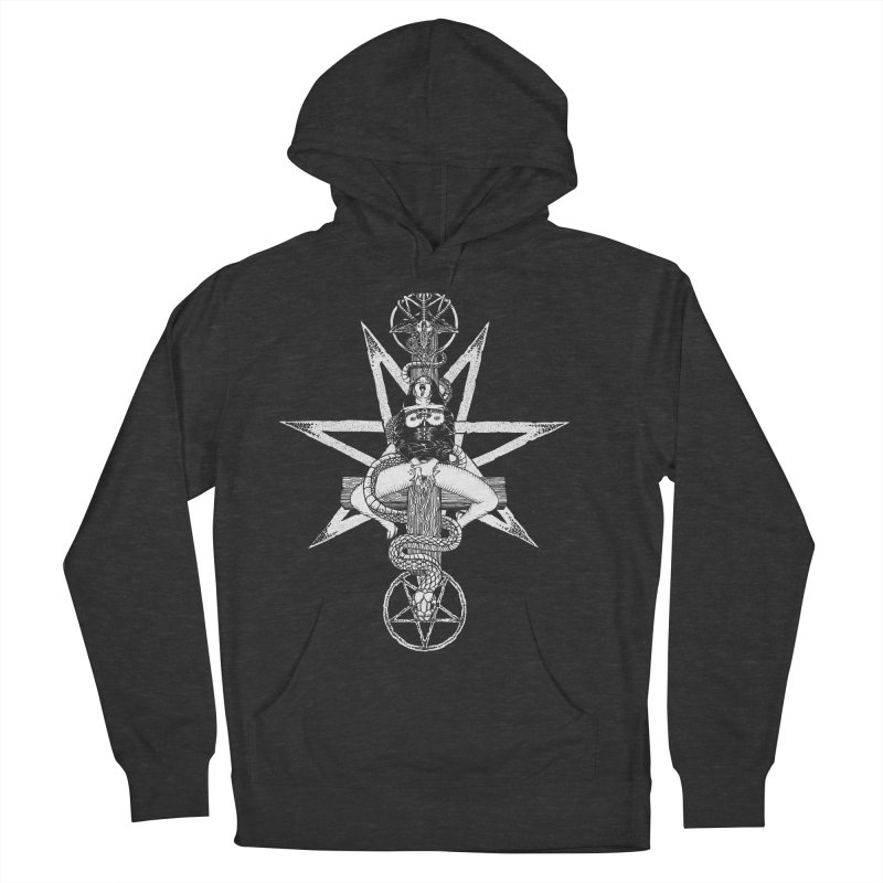 Nun of your business Men's French Terry Pullover Hoody by sp3ktr's Artist Shop
