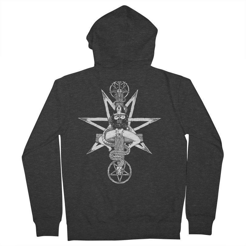 Nun of your business Men's French Terry Zip-Up Hoody by sp3ktr's Artist Shop