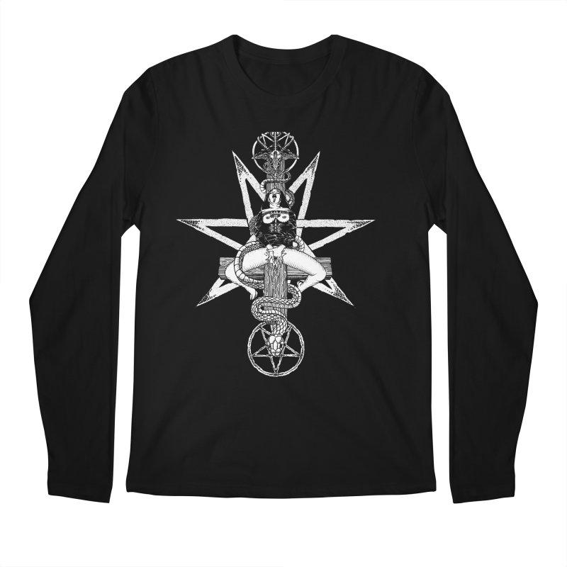 Nun of your business Men's Regular Longsleeve T-Shirt by sp3ktr's Artist Shop