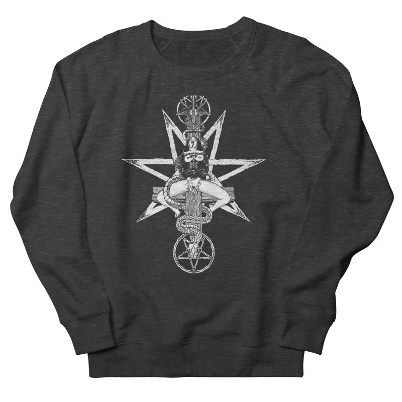 Nun of your business Men's French Terry Sweatshirt by sp3ktr's Artist Shop