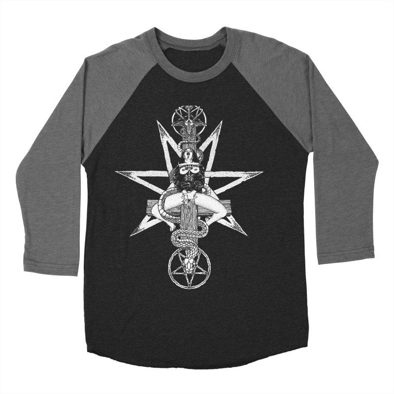 Nun of your business Men's Baseball Triblend Longsleeve T-Shirt by sp3ktr's Artist Shop