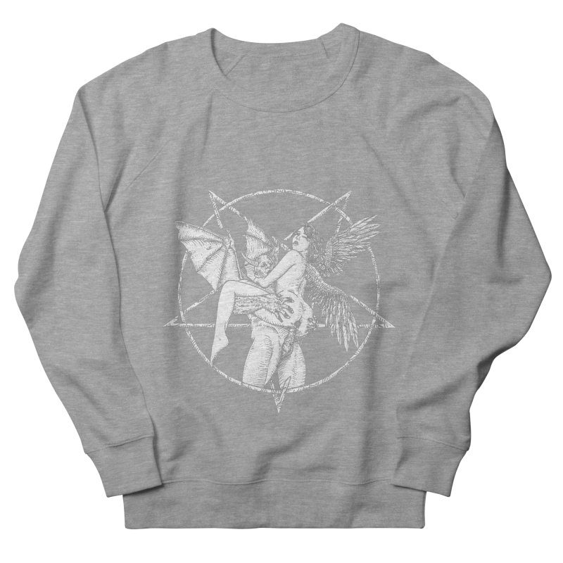 demonic cuddle sesh heavy metal occult Women's French Terry Sweatshirt by sp3ktr's Artist Shop