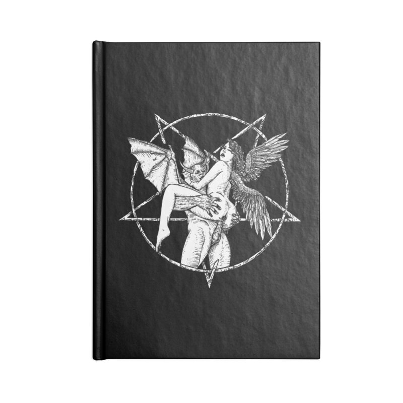 demonic cuddle sesh heavy metal occult Accessories Notebook by sp3ktr's Artist Shop