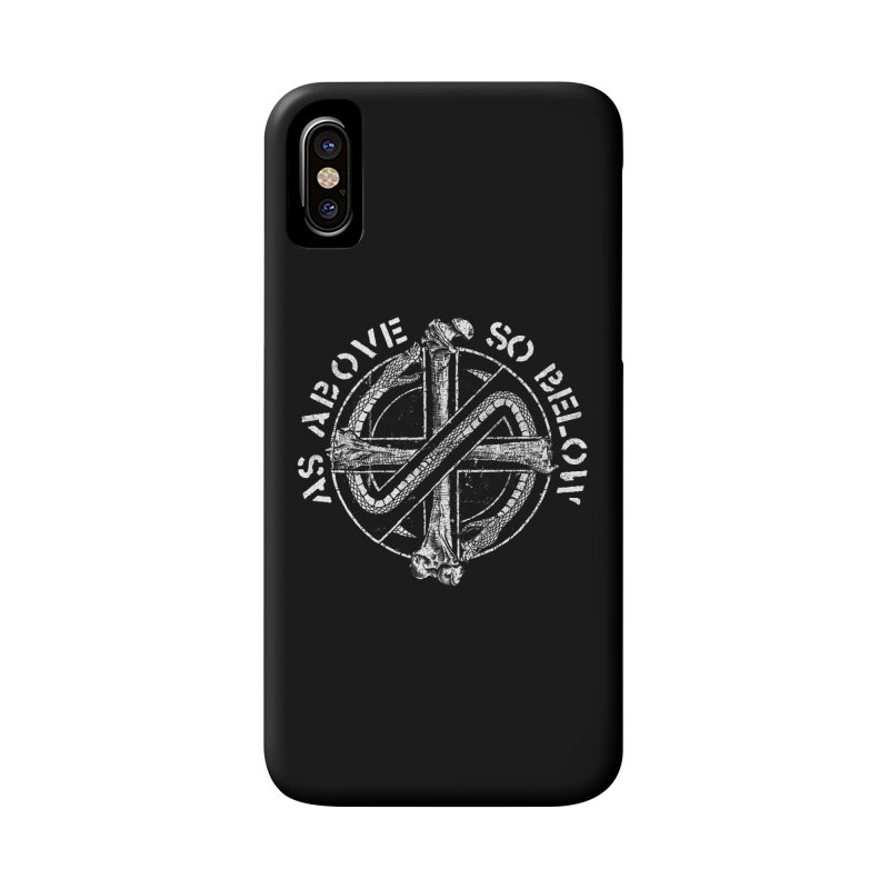 AS ABOVE SO BELOW Accessories Phone Case by Sp3ktr's Artist Shop