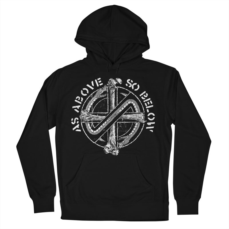 AS ABOVE SO BELOW Women's French Terry Pullover Hoody by sp3ktr's Artist Shop