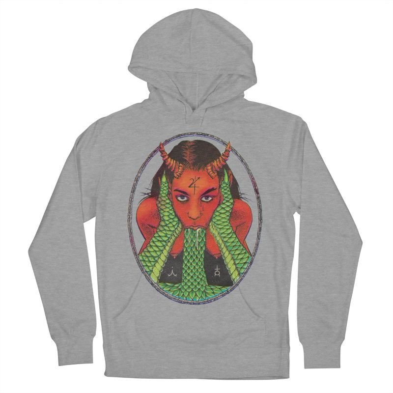 Demon embrace Women's French Terry Pullover Hoody by sp3ktr's Artist Shop