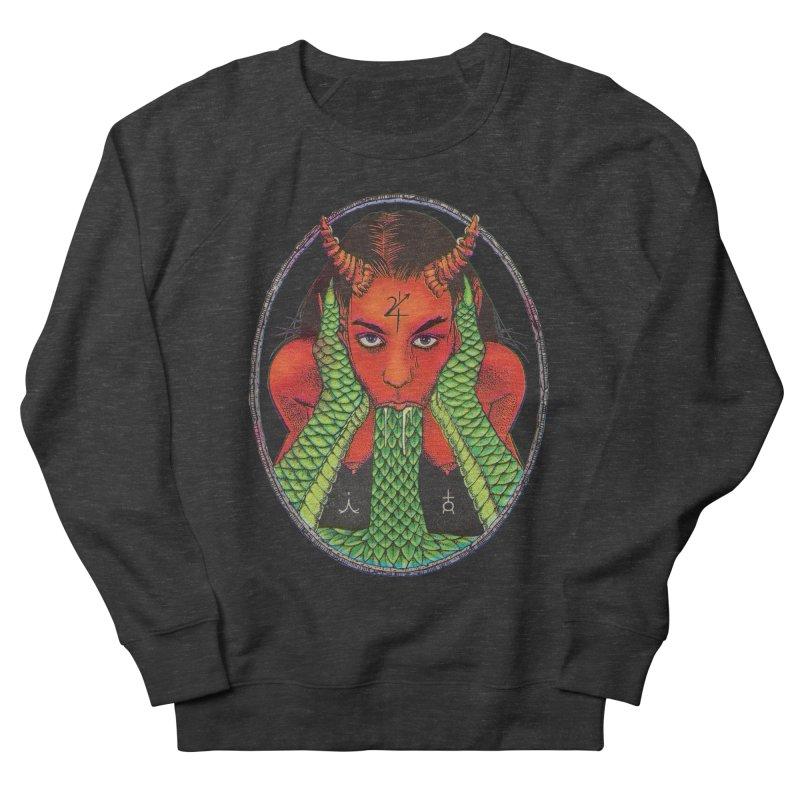 Demon embrace Women's French Terry Sweatshirt by sp3ktr's Artist Shop