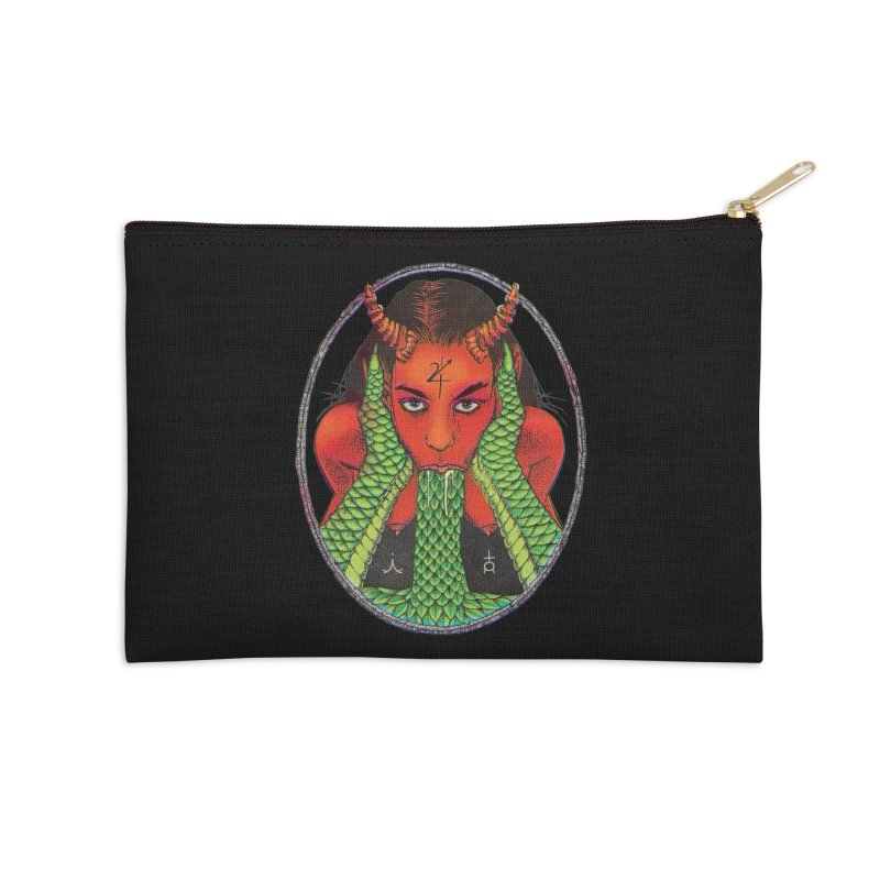 Demon embrace Accessories Zip Pouch by Sp3ktr's Artist Shop