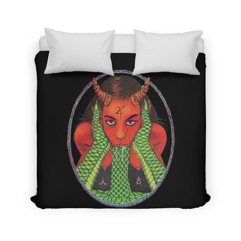 Demon embrace Home Duvet by sp3ktr's Artist Shop