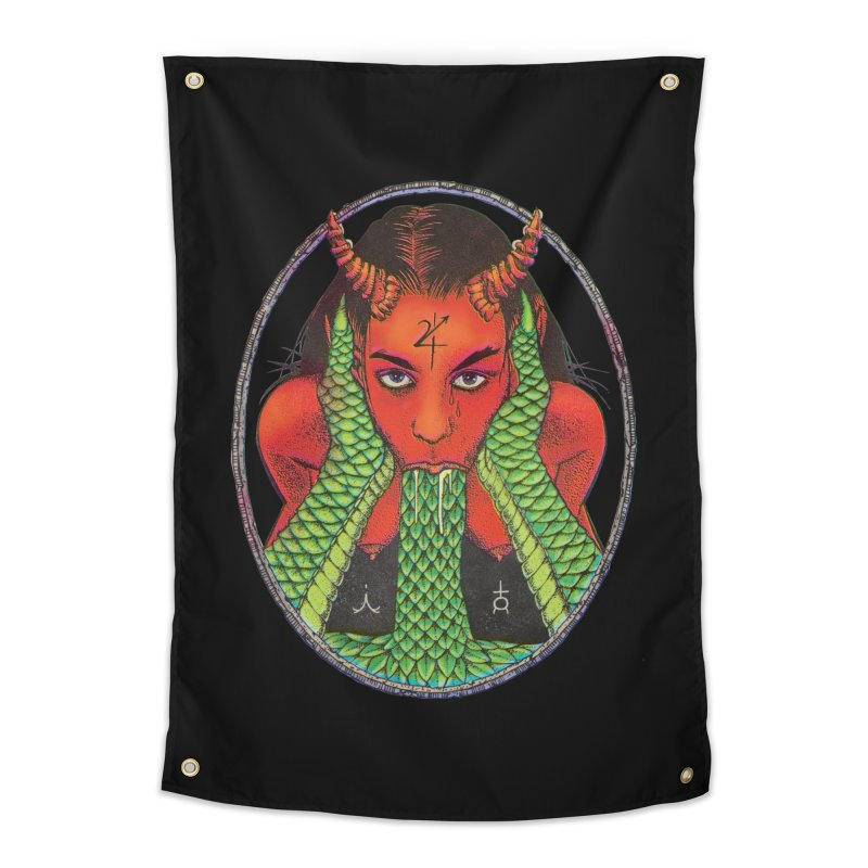 Demon embrace Home Tapestry by Sp3ktr's Artist Shop