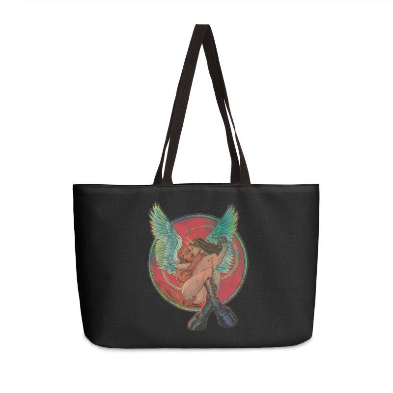 We can be heroes Accessories Weekender Bag Bag by Sp3ktr's Artist Shop