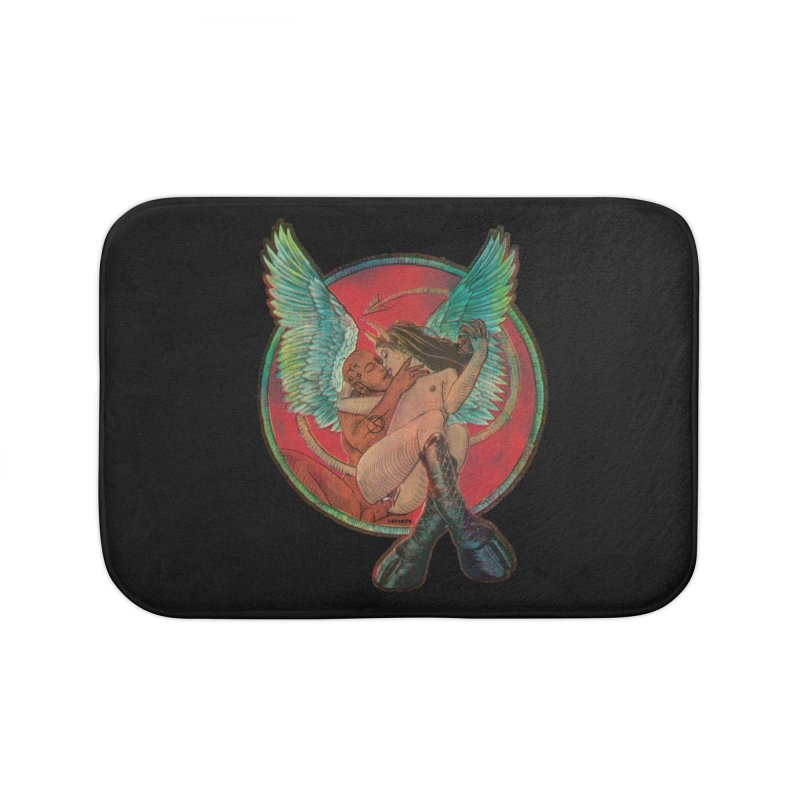 We can be heroes Home Bath Mat by Sp3ktr's Artist Shop