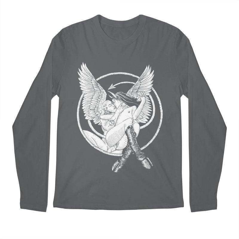 Devil lust black and white Men's Regular Longsleeve T-Shirt by sp3ktr's Artist Shop