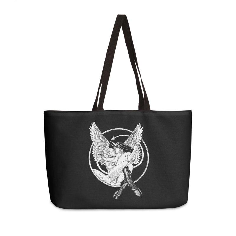 Devil lust black and white Accessories Weekender Bag Bag by Sp3ktr's Artist Shop