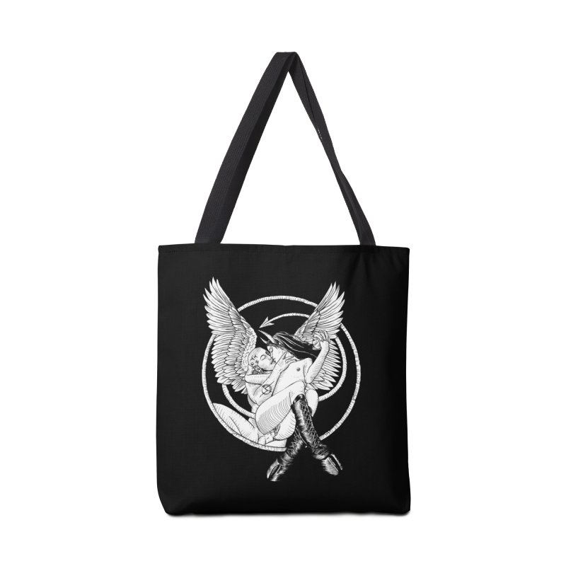 Devil lust black and white Accessories Tote Bag Bag by Sp3ktr's Artist Shop
