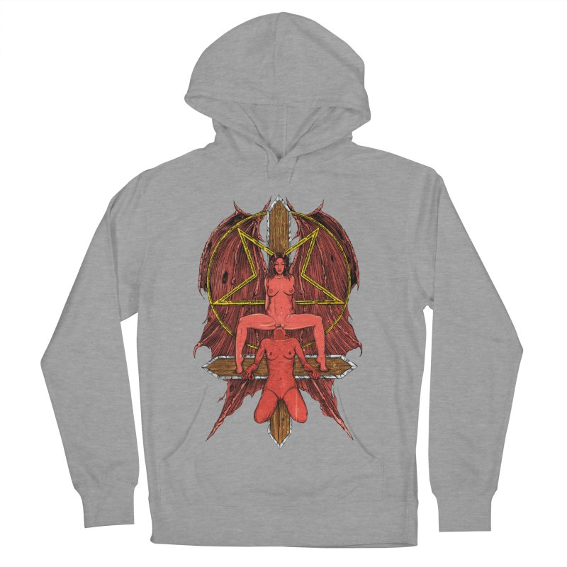 EVIL GFs Women's French Terry Pullover Hoody by sp3ktr's Artist Shop