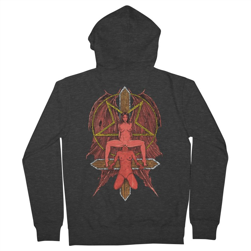 EVIL GFs Women's French Terry Zip-Up Hoody by sp3ktr's Artist Shop
