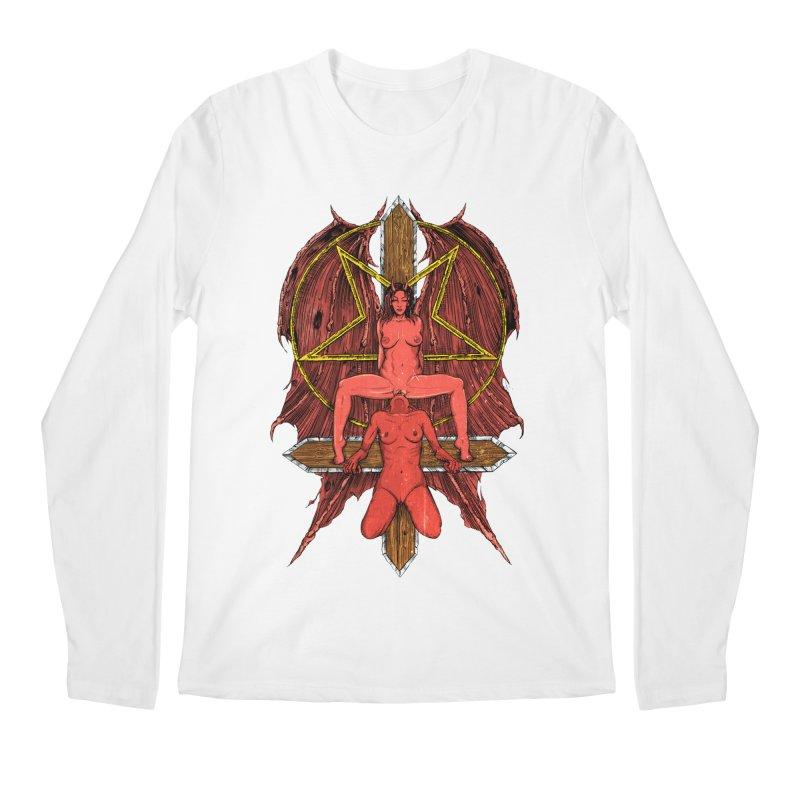 EVIL GFs Men's Regular Longsleeve T-Shirt by sp3ktr's Artist Shop