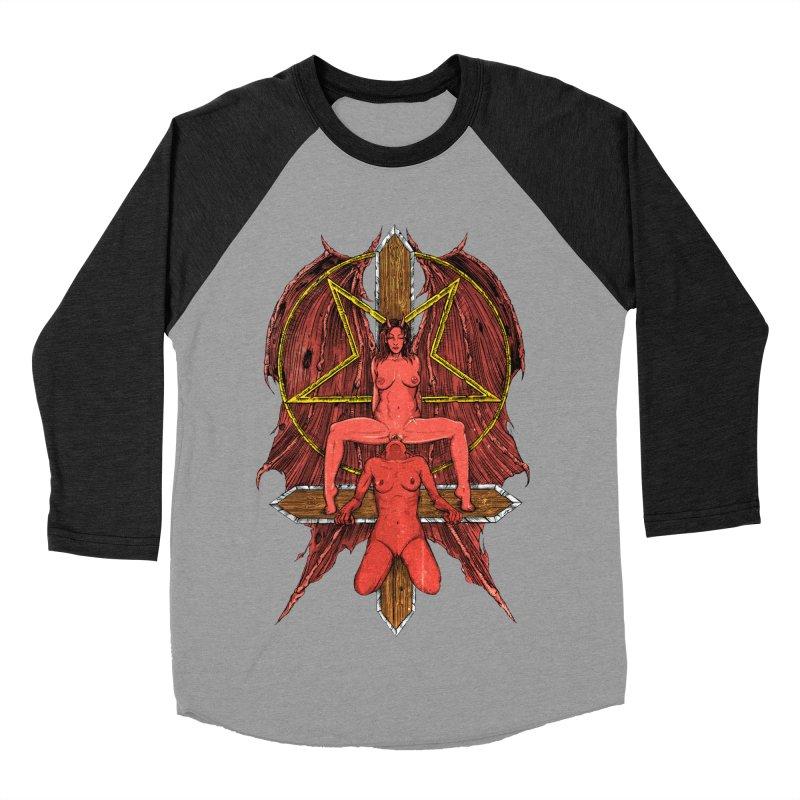 EVIL GFs Men's Baseball Triblend Longsleeve T-Shirt by sp3ktr's Artist Shop