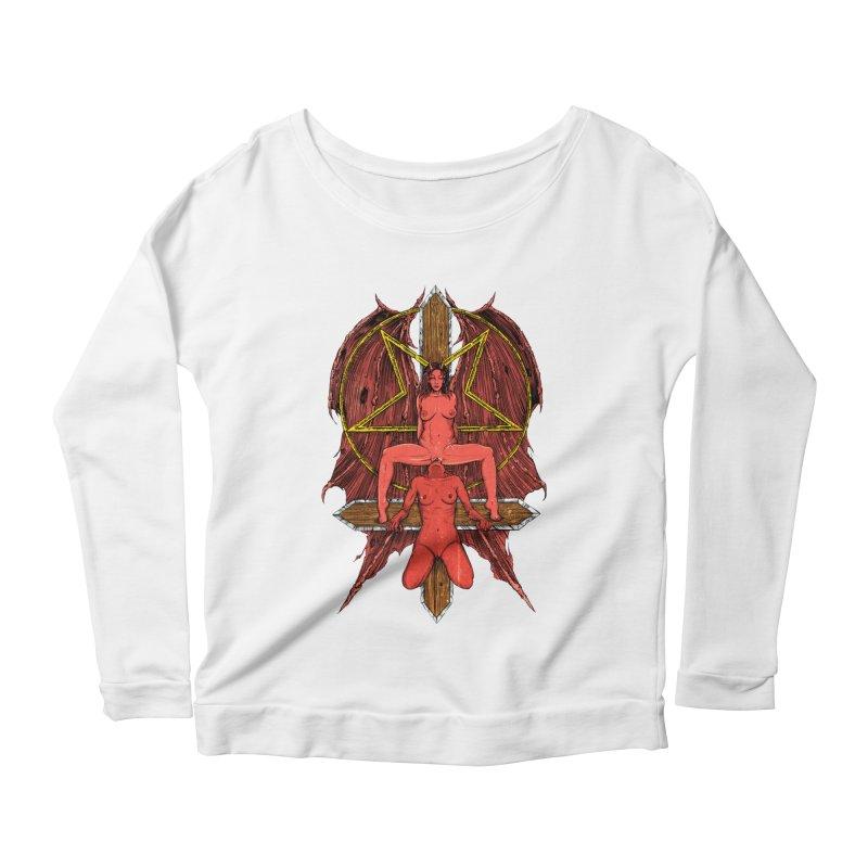 EVIL GFs Women's Scoop Neck Longsleeve T-Shirt by sp3ktr's Artist Shop