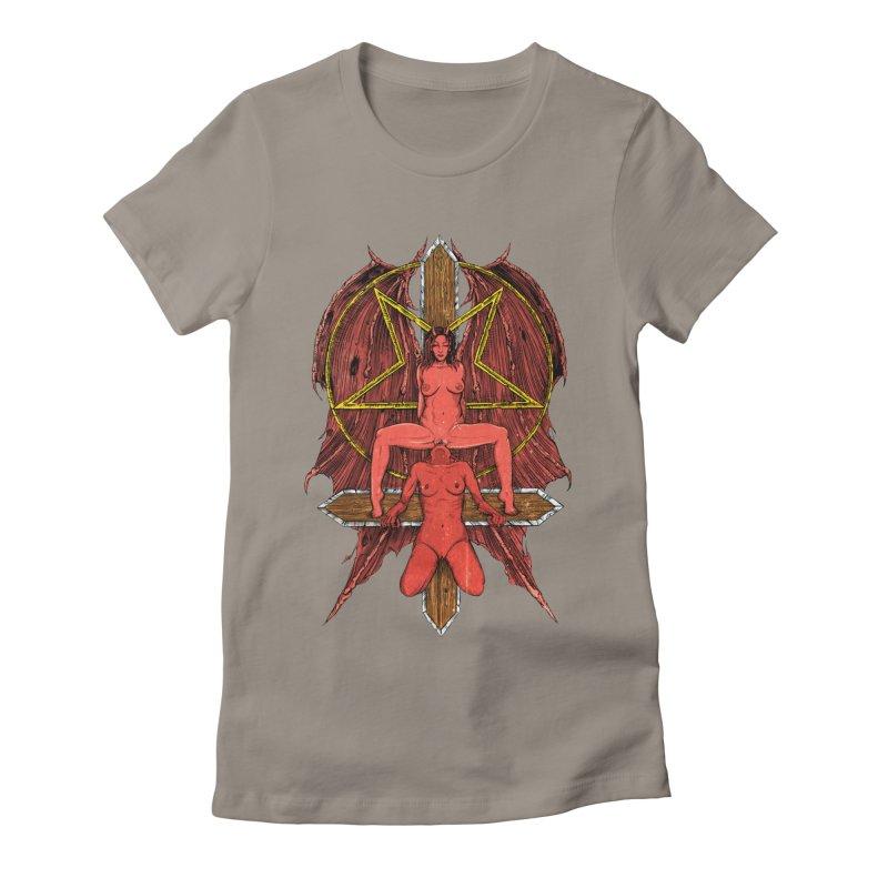 EVIL GFs Women's Fitted T-Shirt by sp3ktr's Artist Shop