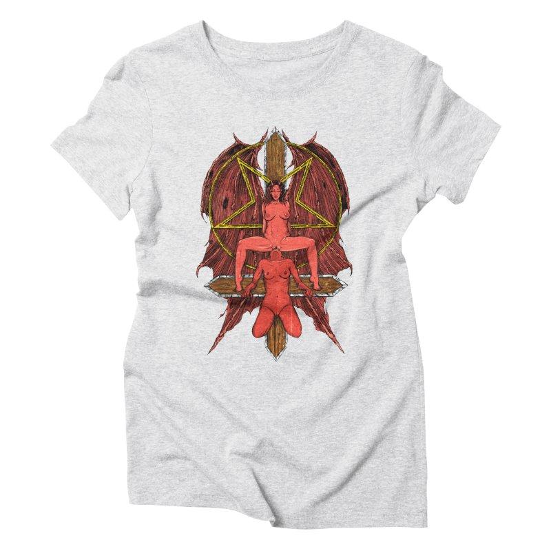 EVIL GFs Women's Triblend T-Shirt by sp3ktr's Artist Shop