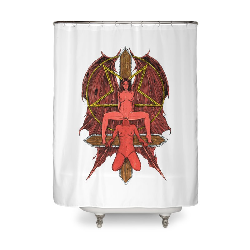 EVIL GFs Home Shower Curtain by Sp3ktr's Artist Shop
