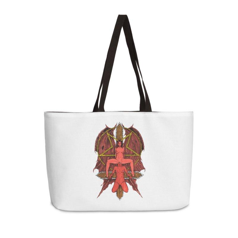 EVIL GFs Accessories Weekender Bag Bag by Sp3ktr's Artist Shop