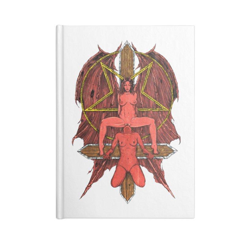 EVIL GFs Accessories Lined Journal Notebook by Sp3ktr's Artist Shop