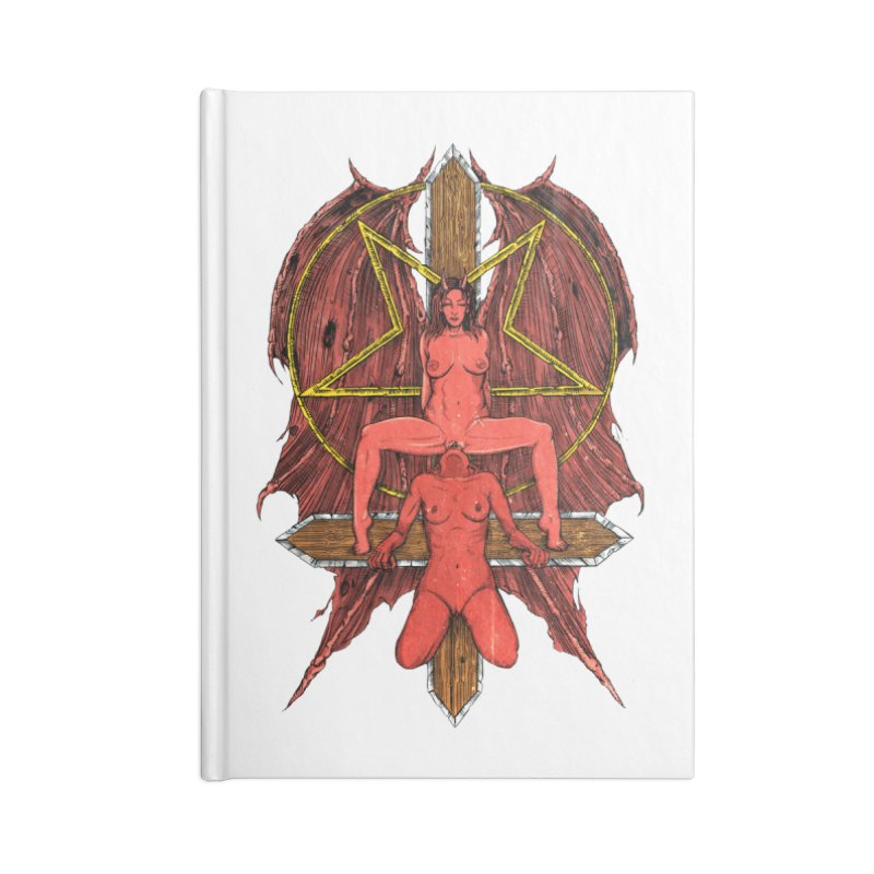 EVIL GFs Accessories Notebook by sp3ktr's Artist Shop
