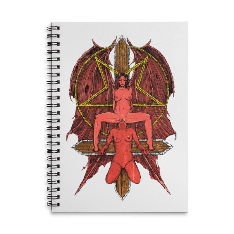 EVIL GFs Accessories Lined Spiral Notebook by Sp3ktr's Artist Shop