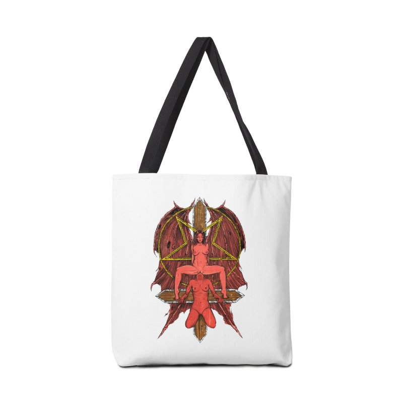EVIL GFs Accessories Tote Bag Bag by Sp3ktr's Artist Shop