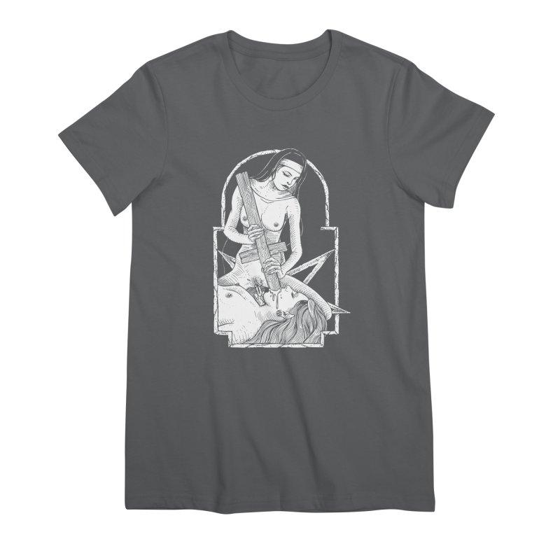 Nun of yer business Women's Premium T-Shirt by sp3ktr's Artist Shop