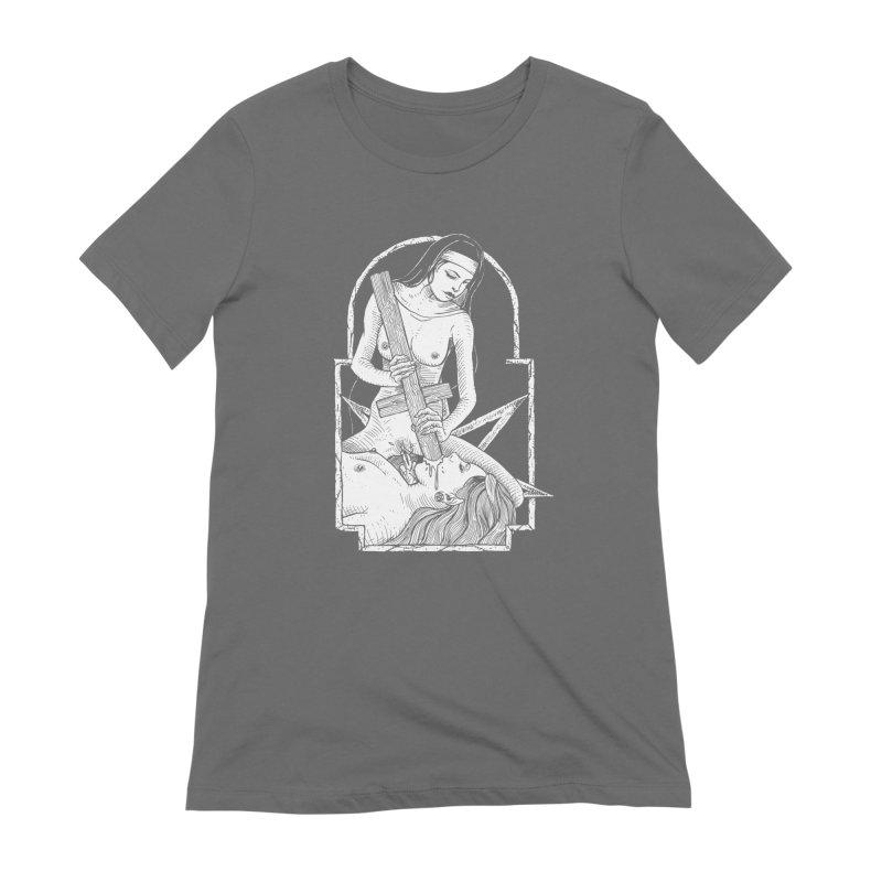 Nun of yer business Women's Extra Soft T-Shirt by sp3ktr's Artist Shop