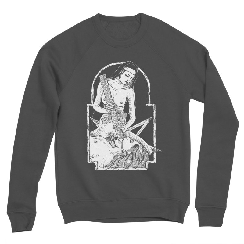Nun of yer business Men's Sponge Fleece Sweatshirt by sp3ktr's Artist Shop