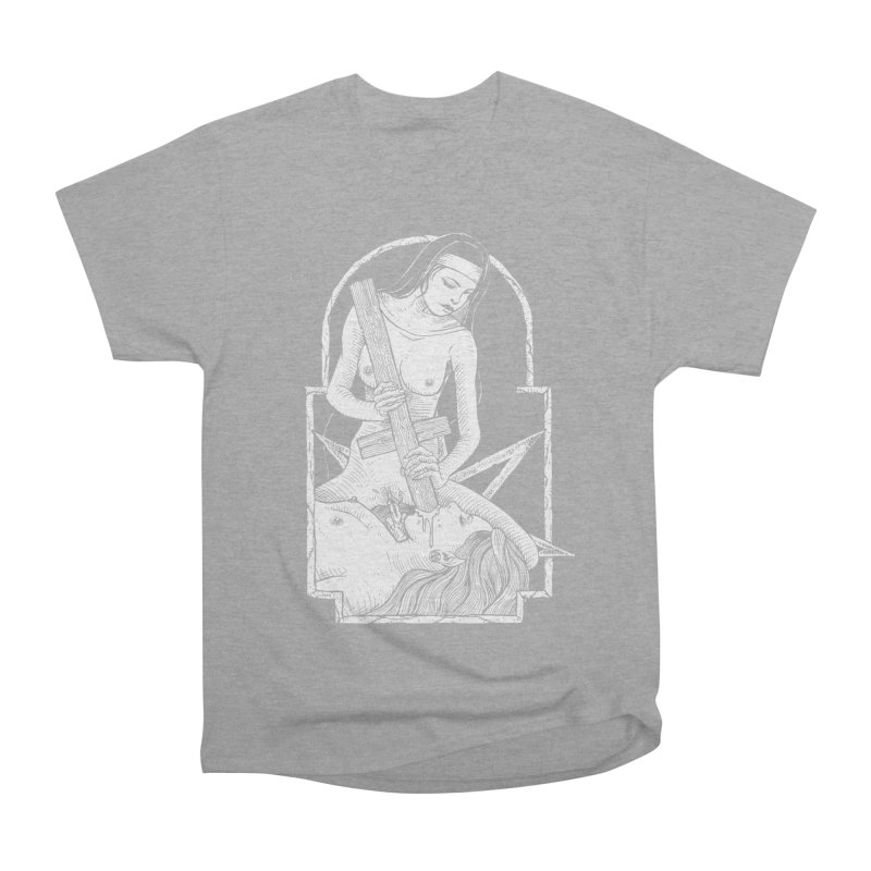 Nun of yer business Women's Heavyweight Unisex T-Shirt by sp3ktr's Artist Shop