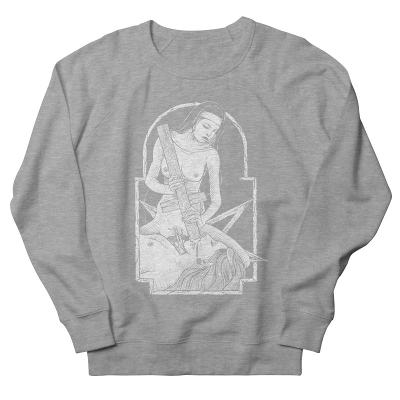Nun of yer business Women's French Terry Sweatshirt by sp3ktr's Artist Shop