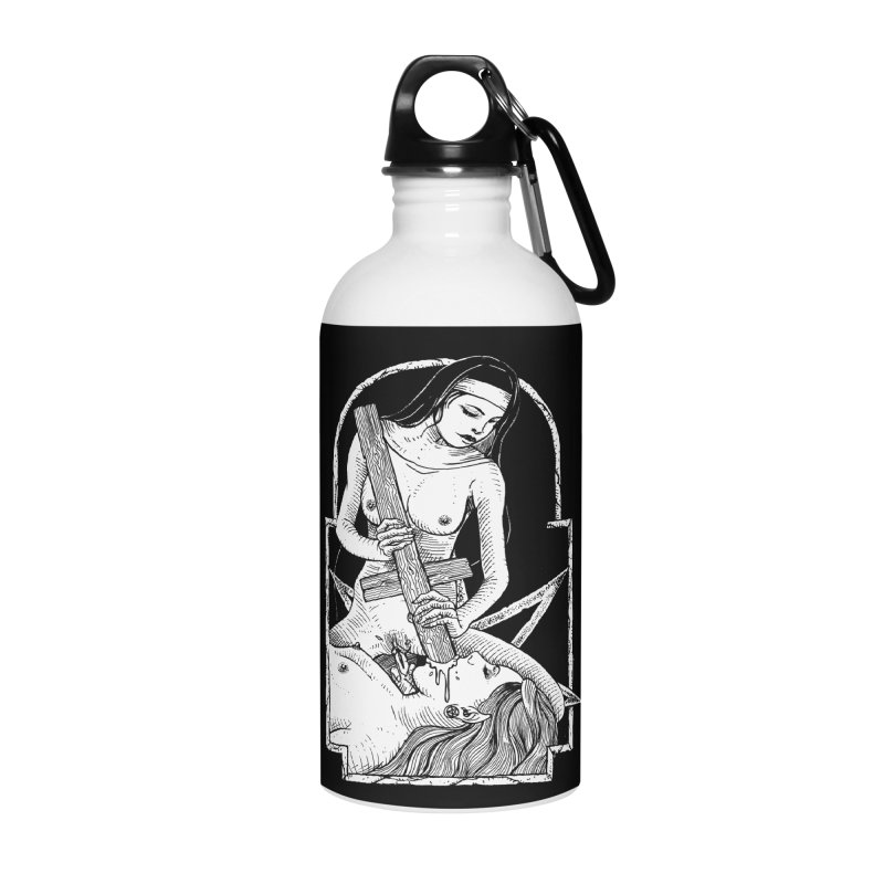 Nun of yer business Accessories Water Bottle by Sp3ktr's Artist Shop